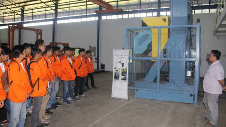 Studi Observasi UKM Aeromodelling ke B2TA3, Puspiptek Serpong, 20 Desember 2018