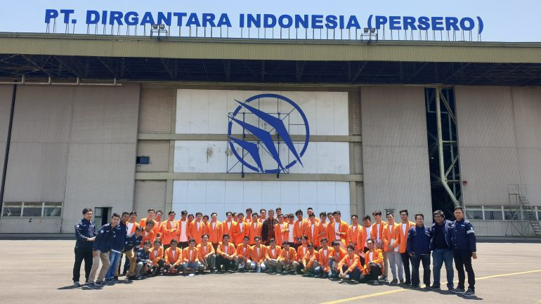 Studi Observasi ke PT. Dirgantara Indonesia, 11 September 2019