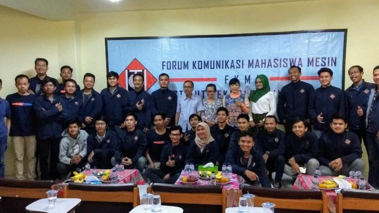 Pelantikan Pengurus Forum Komunikasi Mahasiswa Mesin – ITI, 2019-2020