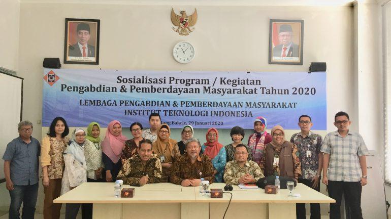 Sosialisasi Kegiatan LP2M Tahun 2020, 29 Januari 2020